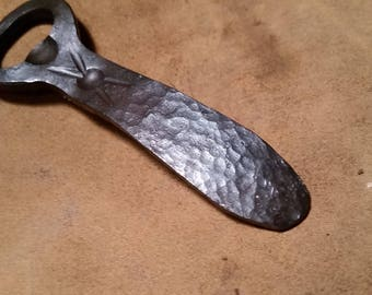 Hand Forged Scaled bottle opener