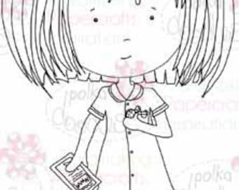 Nurse Annie Digital Stamp - by Nikky Hall