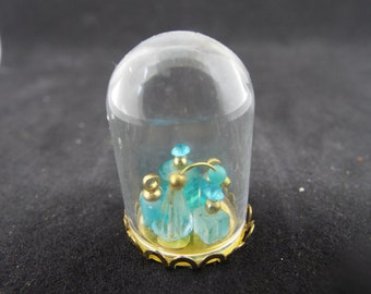 1/12 Scale Dollhouse Perfumes Under Glass Dome