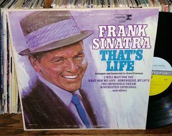 Frank Sinatra That's Life Vintage Vinyl Record
