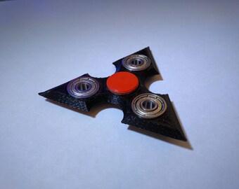 3D Printed Micro Shuriken Ninja Star Fidget Hand Spinner