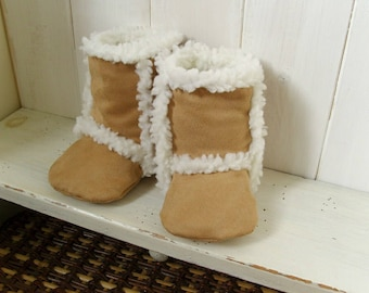 181 Finley Baby Boots PDF Sewing Pattern