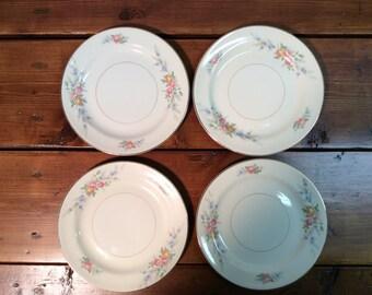 Homer Laughlin Nautilus Eggshell Plates & Nautilus plates | Etsy