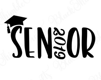 Senior Class of 2018 graduation design files Graduate svg