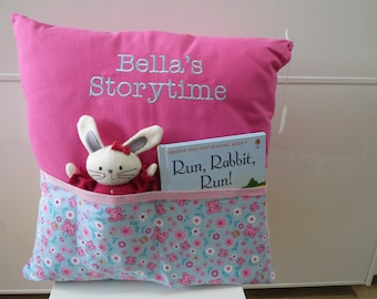 Personalised Storytime Cushion (including book and toy)