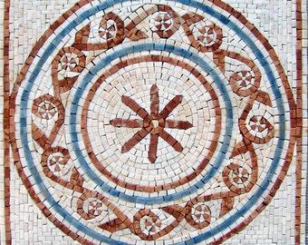 Geometric Stone Mosaic Tile - Ceira