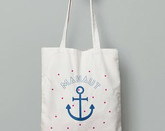 Personalized tote bag, Canvas Tote Bag, Anchor bag, Custom Tote Bag, Kids Bag, Tote Bag