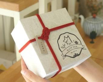 Infinite Bless Gift Set / Tea Gift / Red Knot