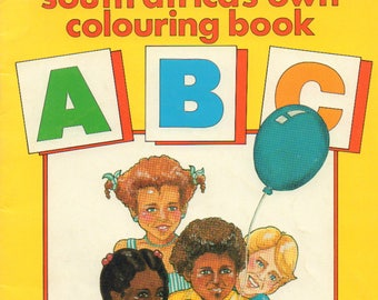 South Africa's Own ABC Colouring Book