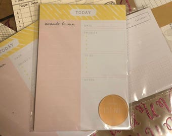 Target Daily To-Do Checklist Notepad