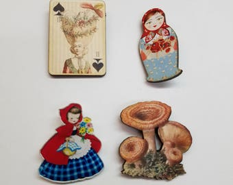 Wooden Pin Lucky Pack!