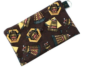 Spoonie Bag (DALEKS-BROWN) - portable self-care kit for grounding when overstimulated or triggered.