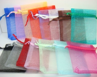 Organza Bags Gift Bags Party Bags Jewelry Bags Gifting Bags Wholesale Organza Bags Assorted Bags 10 pieces 6x4
