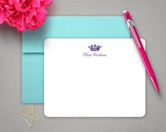 Baby Shower Gift | Gift for Her | Personalized Gifts for Women | ROYAL CROWN | Baby Stationary | Stationery for Women