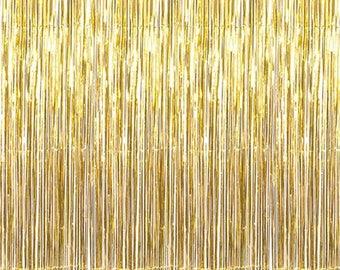 Gold Foil, Curtain/backdrop   Party, Wedding   Party Decor