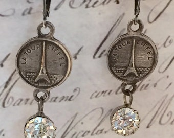 Vintage Paris Earrings