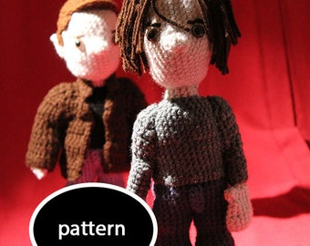 Pattern for Sam from Supernatural - 1 Full Size Amigurumi