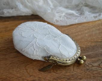 ON SALE Handmade Classic Lace Purse (SSPURSE003)