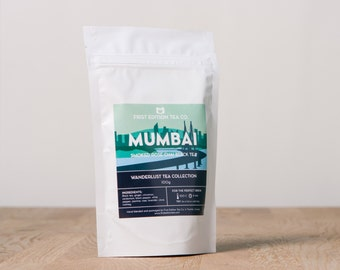 Mumbai Loose Leaf Tea Blend - Spiced Garden Chai Black Tea - 100g bag - Wanderlust Tea Collection