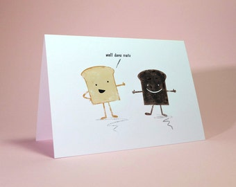 Well Done - Greetings Card