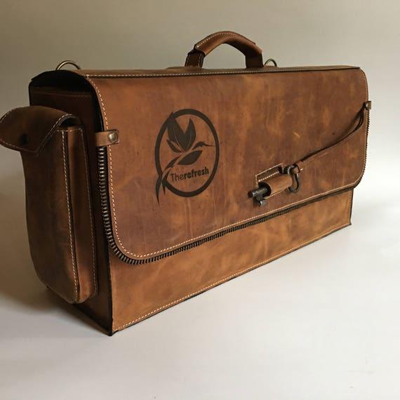 Bartender Briefcase, Padded bartender bag, Barman Bag, BARISTA Bag, Barista Briefcase