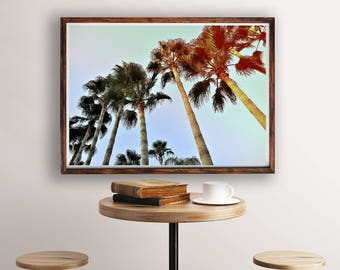 Tropical Wall Art, Tropical Decor, Palms, Palm Tree Print, Palm Trees Photo, Palms Wall Art, Palm Tree Photography Print, Palm Tree Poster