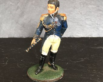 Del Prado Lead soldier. Hand painted lead soldier. Die cast soldier. Marechal Berthier. Vintage lead soldier