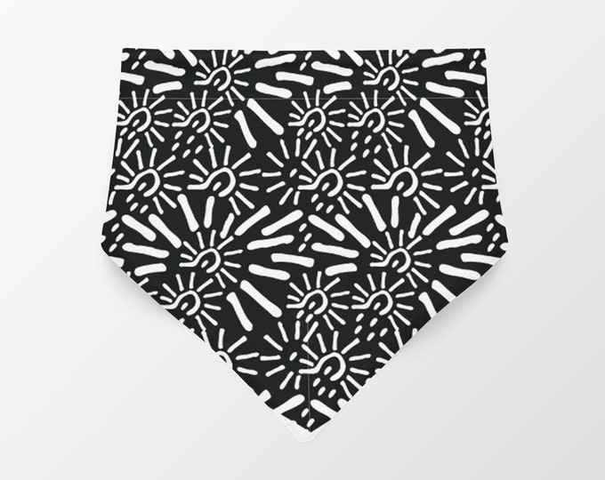 Medium Reversible Dog Bandana