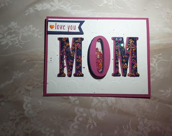 love you mom shaker card