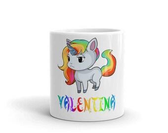 Valentina Unicorn Mug
