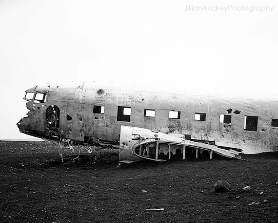 Black And White Photography Decay Iceland WWII