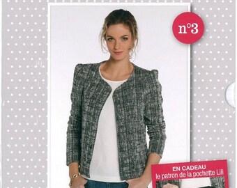 My Lili jacket easy sewing pattern