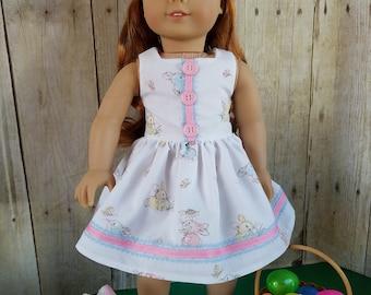 Lovely Easter Dress for 18-Inch Dolls!