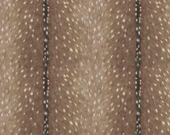 Diaper and Wipe Strap - deer skin cotton