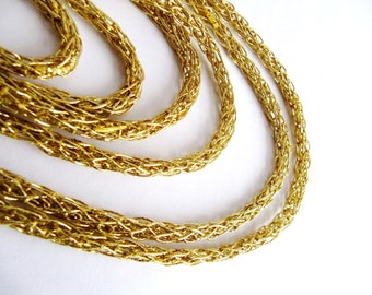 Gold cord, Lurex Cordon,