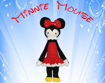 MINNIE Mouse (Lalylala Modification) INSTANT DOWNLOAD