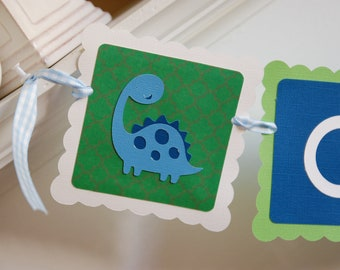 Dinosaur Name Banner, Dinosaur Birthday, Dinosaur Theme, Dinosaur Party, Dinosaur Party Decorations