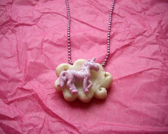 3 necklaces Fairy tale in Fimo