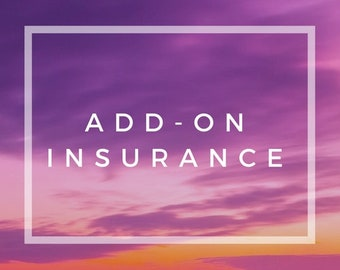 Add -On Shipping Insurance Domestic or International