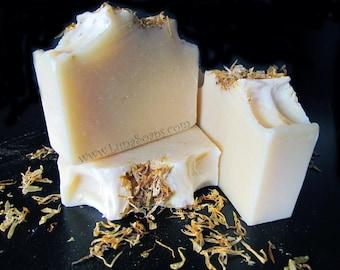 Charming Calendula Silk Soap- Fragrance Free