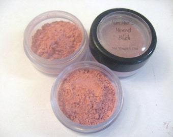 Mineral Blush, Eye Shadow, Lip Color All In One - Azalea - Mum Mum's Crafts Mineral 3-in-1 Color