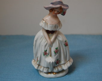 Vintage Southern Belle Figurine, Porcelain Figurine, Mother's Day Gift, Birthday Gift, Home Decor, Lady Figurine