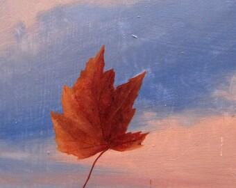 Landscape oil painting - Take Close