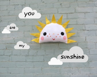 Plush Pillow Toy - Miss Sunshine - As seen in Daily Candy