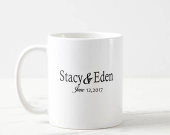 60 Wedding Favor Mugs