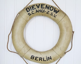 Original vintage rescue ring from Berlin