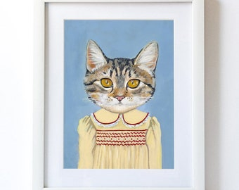 Margaret - Matte Print- From Painting by Heather Mattoon