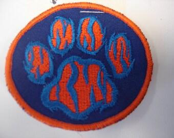 Auburn Tiger Paw Patch