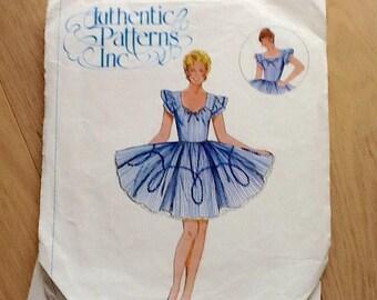 Authentic Patters Inc. 326 Ladies Square Dance Dress size 12-14-16