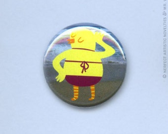 "Chickini 1"" Pin-Back Button"